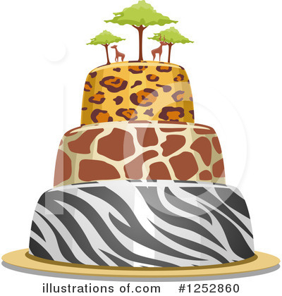 Giraffe Clipart #1252860 by BNP Design Studio