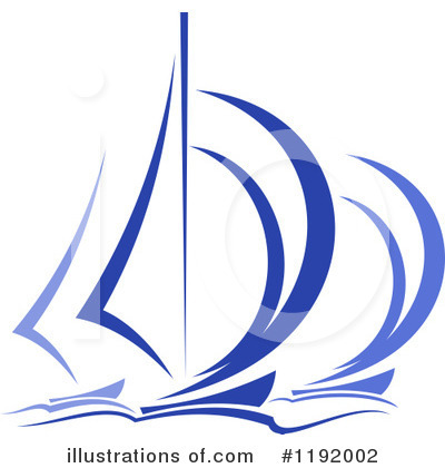 Sailboat Clipart #1192002 by Vector Tradition SM