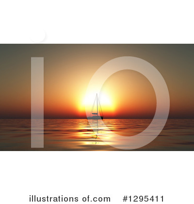 Sailboat Clipart #1295411 by KJ Pargeter