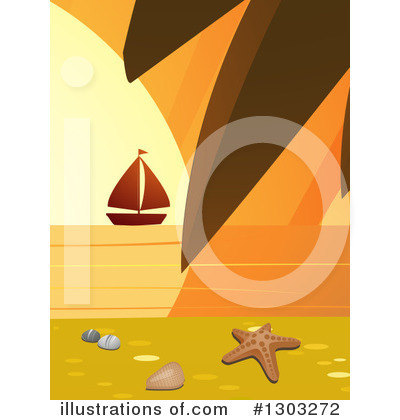 Sailboat Clipart #1303272 by elaineitalia