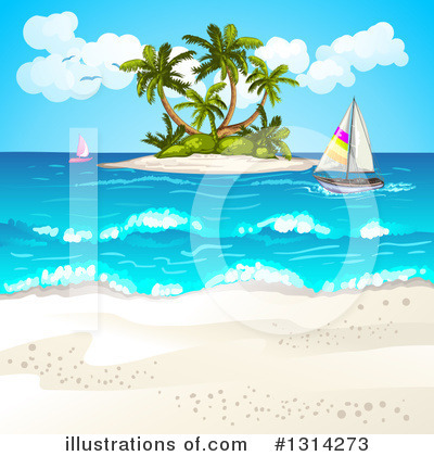 Sailboat Clipart #1314273 by merlinul