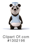 Sailor Panda Clipart #1302196 by Julos