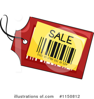 Price Tag Clipart #1150812 by BNP Design Studio