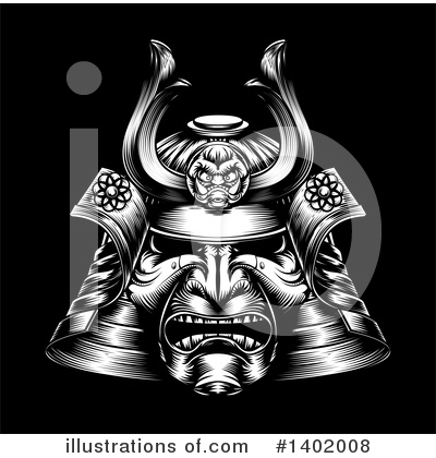 Samurai Clipart #1402008 by AtStockIllustration
