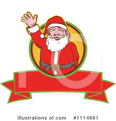Christmas Banner Clipart #1114661 by patrimonio