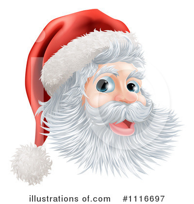 Santa Clipart #1116697 by AtStockIllustration