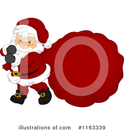 Santa Clipart #1163339 by BNP Design Studio