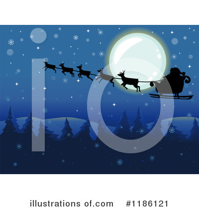 Santa Clipart #1186121 by BNP Design Studio