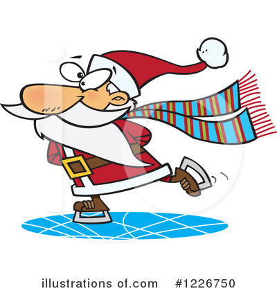 Santa Clipart #1226750 by toonaday