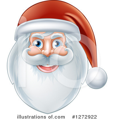Santa Clipart #1272922 by AtStockIllustration
