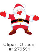 Santa Clipart #1279591 by Pushkin