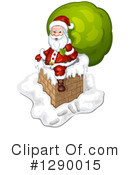 Santa Clipart #1290015 by merlinul