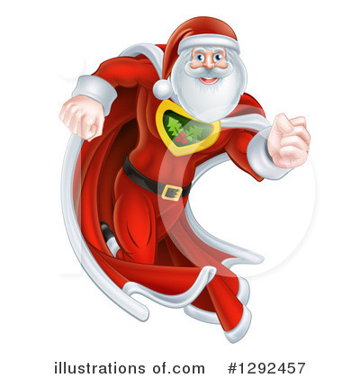Santa Clipart #1292457 by AtStockIllustration