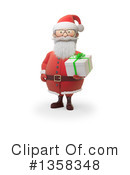 Santa Clipart #1358348 by Mopic