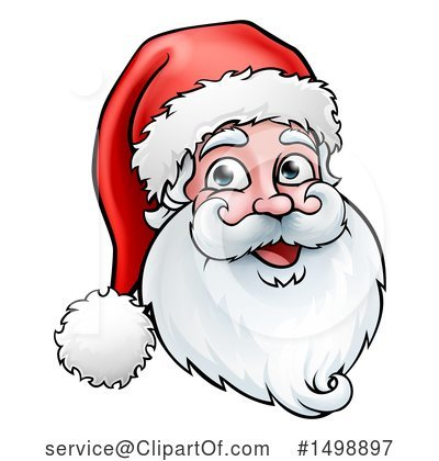 Santa Clipart #1498897 by AtStockIllustration