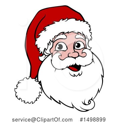 Santa Clipart #1498899 by AtStockIllustration