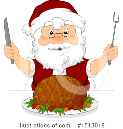 Santa Clipart #1513018 by BNP Design Studio