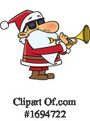 Santa Clipart #1694722 by toonaday