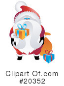 Santa Clipart #20352 by Tonis Pan