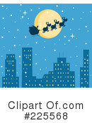 Santa Clipart #225568 by Hit Toon