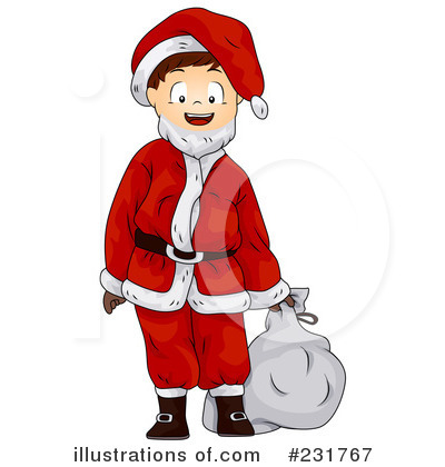 Santa Clipart #231767 by BNP Design Studio