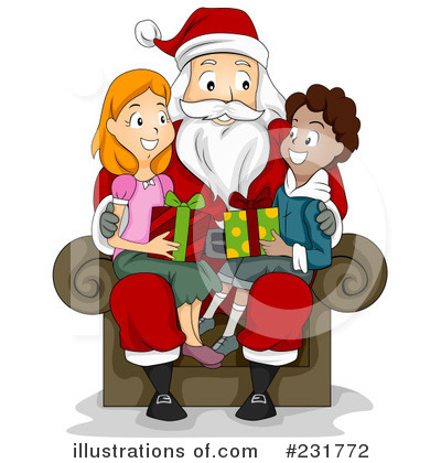 Santa Clipart #231772 by BNP Design Studio