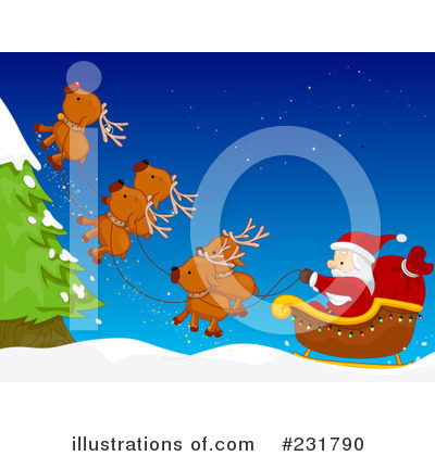 Santa Clipart #231790 by BNP Design Studio