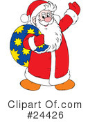 Santa Clipart #24426 by Alex Bannykh