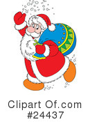 Santa Clipart #24437 by Alex Bannykh