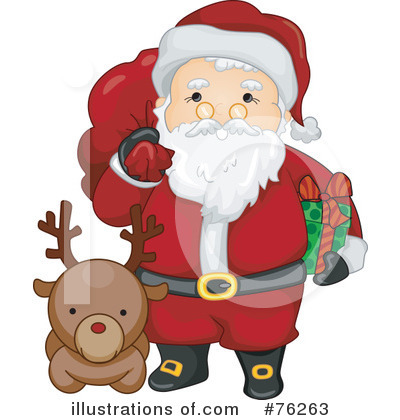 Santa Clipart #76263 by BNP Design Studio