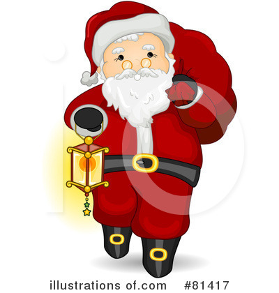 Santa Clipart #81417 by BNP Design Studio