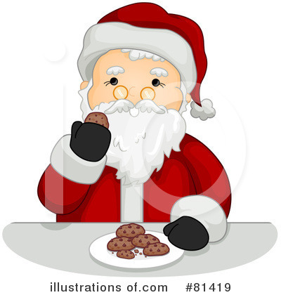 Santa Clipart #81419 by BNP Design Studio