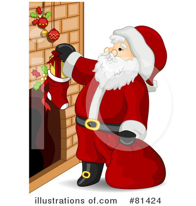 Santa Clipart #81424 by BNP Design Studio