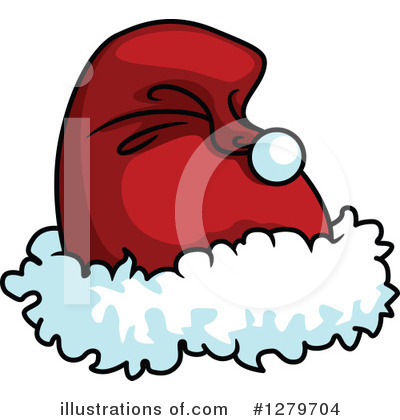 1b7d20bac919d Santa Hat Clipart  1127304 - Illustration by Vector Tradition SM