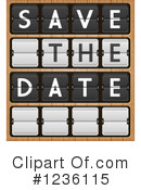 Save The Date Clipart #1236115 by Eugene