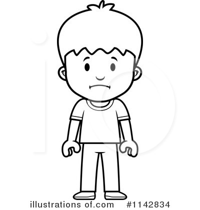School Boy Clipart #1142834 - Illustration by Cory Thoman