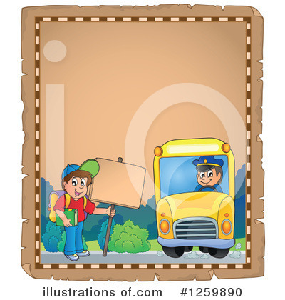 Royalty-Free (RF) School Boy Clipart Illustration by visekart - Stock Sample #1259890