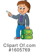 School Boy Clipart #1605769 by visekart