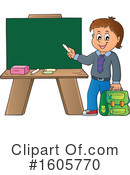 School Boy Clipart #1605770 by visekart