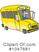 School Bus Clipart #1047681 by toonaday