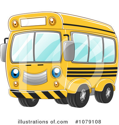 School Bus Clipart #1079108 by BNP Design Studio