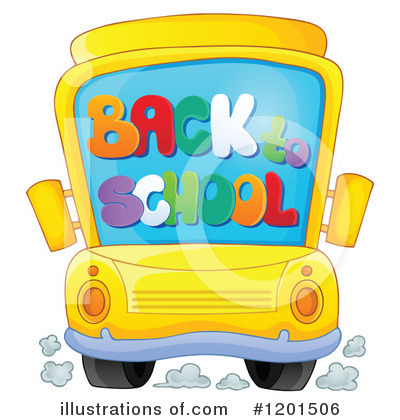 School Bus Clipart #1201506 by visekart