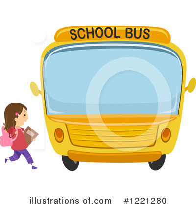 School Bus Clipart #1221280 by BNP Design Studio