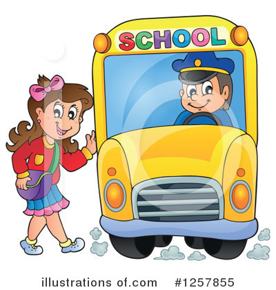 School Bus Clipart #1257855 by visekart