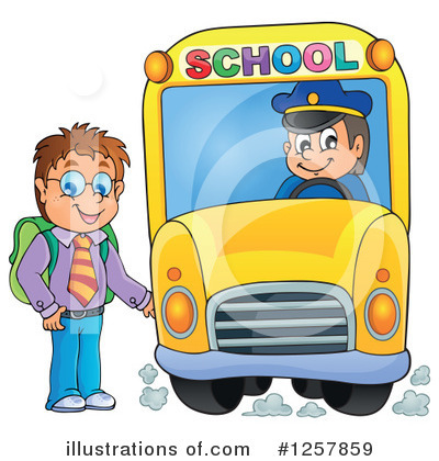 School Boy Clipart #1257859 by visekart