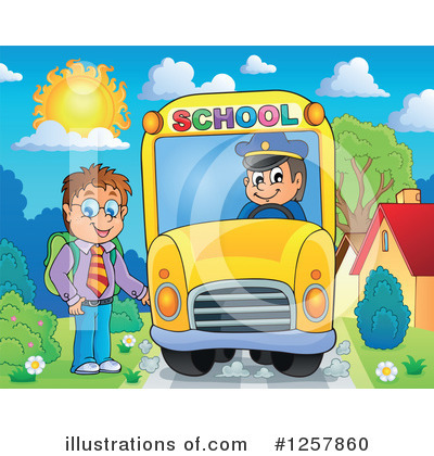 School Bus Clipart #1257860 by visekart