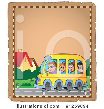 School Bus Clipart #1259894 by visekart