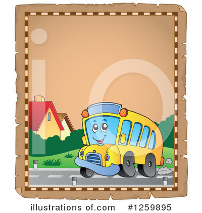 School Bus Clipart #1259895 by visekart