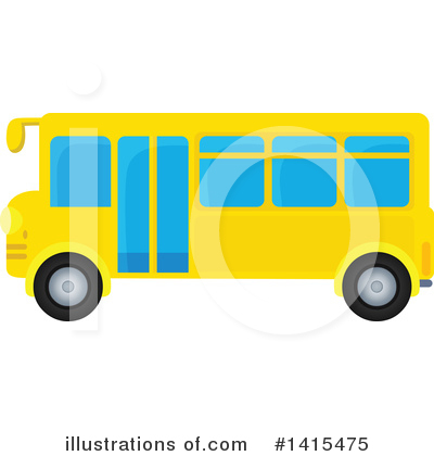 School Bus Clipart #1415475 by visekart