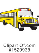 School Bus Clipart #1529938 by Johnny Sajem